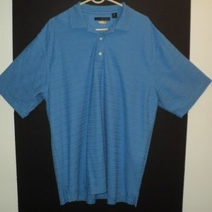 💥HP💥Greg Norman Play Dry Polo Shirt Size XL Blue